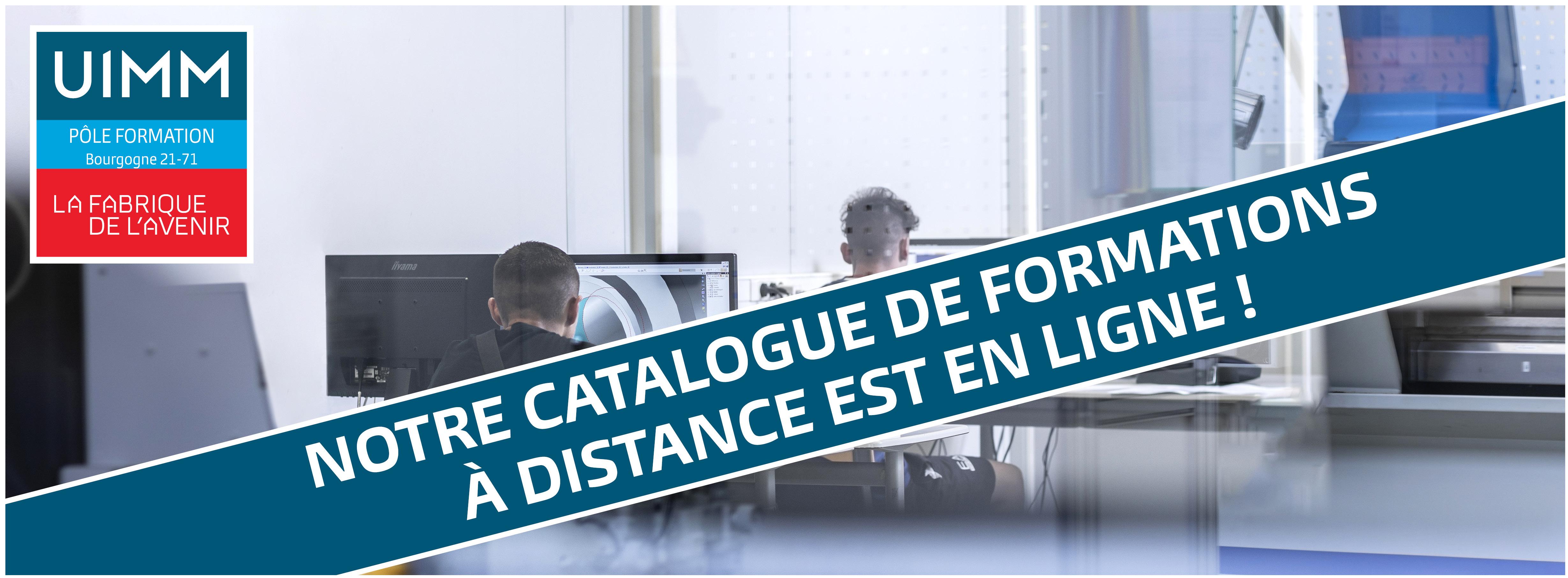 Bandeau Site catalogue a distance